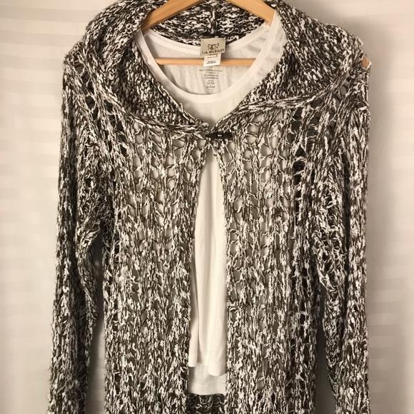 LA Blend Long Knit Sweater, Cozy Summer Weight